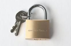 Brass Key Padlock 40mm