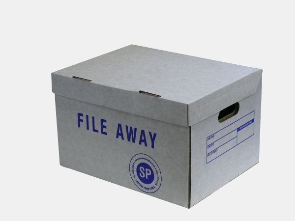 Packaging supplies - Standard Archive Box. Harrogate Self Storage.