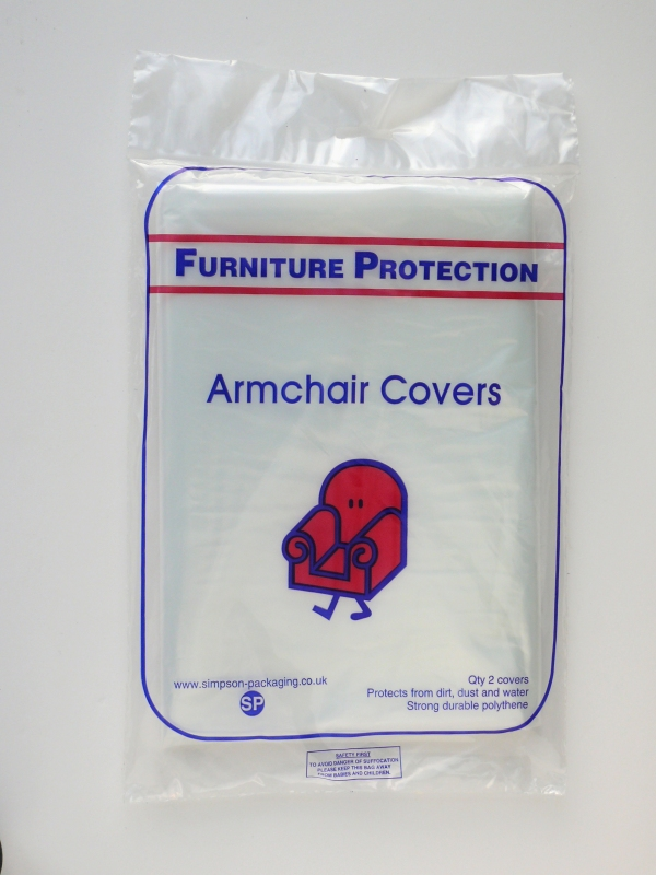 Packaging supplies - Armchair Covers. Harrogate Self Storage.