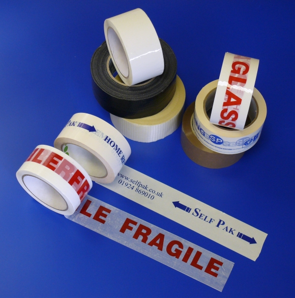Packaging supplies - Tape. Harrogate Self Storage.