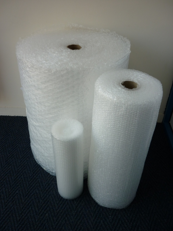 Packaging supplies - Bubble Wrap. Harrogate Self Storage.