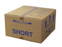 Short cardboard box
